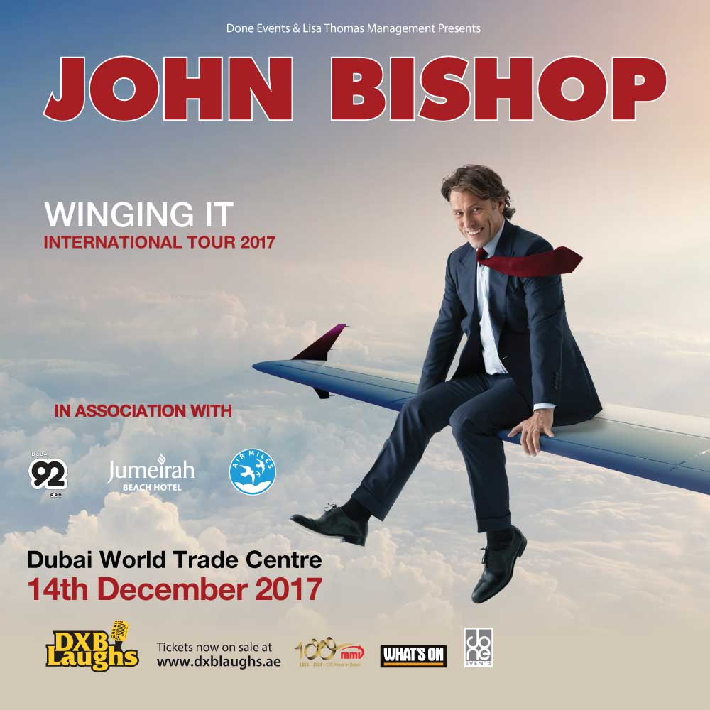 DXBLaughs: John Bishop Winging It