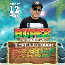 Caribbean Beach Party Featuring Rupee &Friends