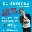 Ed Sheeran Live in Dubai