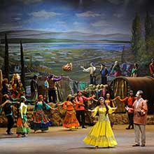 ON THE LAND OF GYPSIES A Musical Play