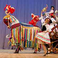 TRADITIONAL DANCES performed by Igor Moiseyev
