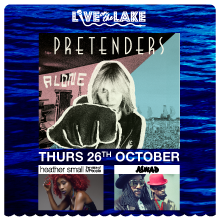 Live on the Lake presents The Pretenders