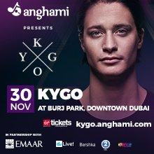 Anghami presents Kygo