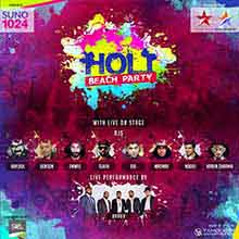 Holi Beach Party 2018