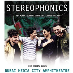 STEREOPHONICS LIVE IN DUBAI