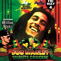 BOB MARLEY TRIBUTE IN MUSCAT - FEATURING MILLION STYLEZ