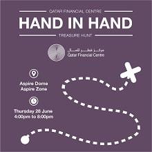 Hand in Hand Treasure Hunt