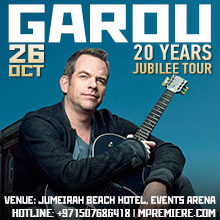 GAROU Live in Dubai | 20 Years - Jubilee Tour
