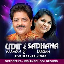 UDIT NARAYAN & SADHANA SARGAM LIVE IN BAHRAIN 2018