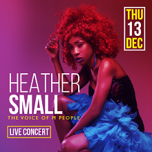 Heather Small live in Doha!
