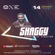 Shaggy Live in Bahrain