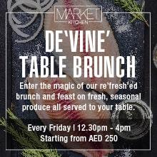 Market Kitchen- DE'VINE' Table Brunch