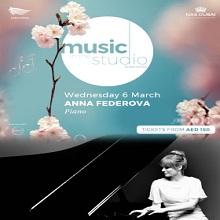 Music in the Studio present Anna Federova