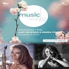 Music in the Studio present Amy Dickson & Amira Fouad