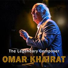 Legendary composer Omar Khairat At THE PARK