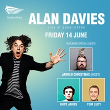 Alan Davies Live