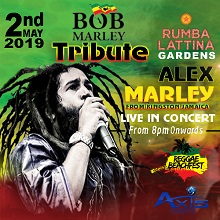 Bob Marley Tribute LIVE Concert featuring Alex Marley