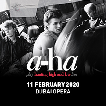 a-ha LIVE AT DUBAI OPERA