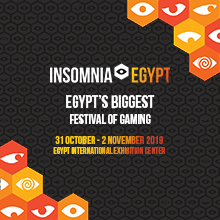 Insomnia Egypt Gaming FestivalENABLED BY WE