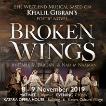 "Khalil Gibran's ""Broken Wings - The Musical"""