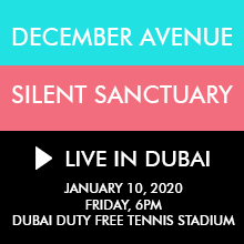 December Avenue & Silent Sanctuary Live in Dubai