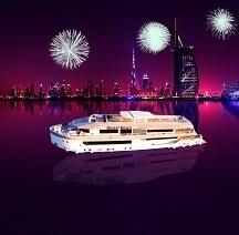 The Desert Rose Mega Yacht New Year's Eve 2020