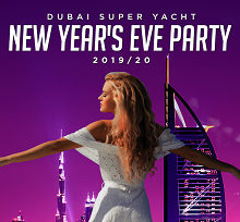 The Super Yacht New Year's Eve 2020