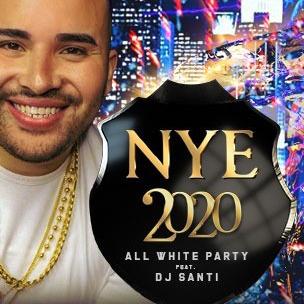 NYE 2020 all white party with DJ Santi