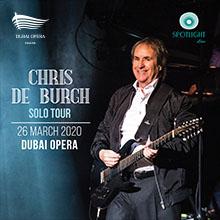 Chris De Burgh - Solo Tour