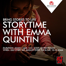 """Once Upon a Time"" Storytelling sessions with Miss Emma!"