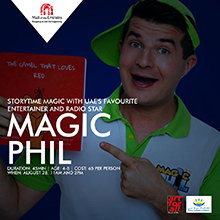 Storytime Magic with Magic Phil