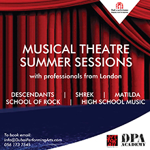 Musical Theatre Summer Sessions